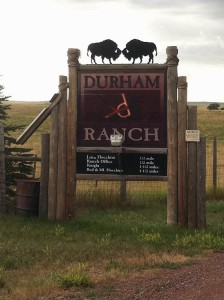 DR ranch entrance
